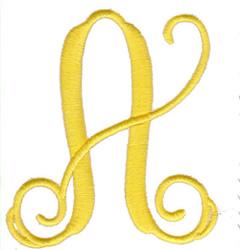 "Elegant 4"" A embroidery design"