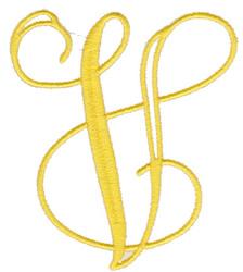 """Elegant 4"""" V embroidery design"""