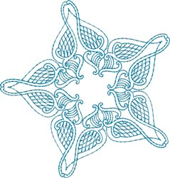 Star Decoration embroidery design
