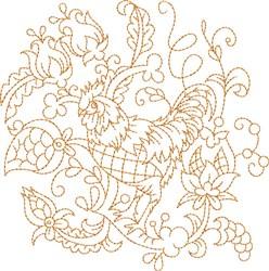 Quilt Hen embroidery design
