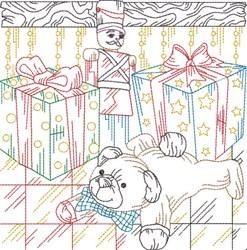 Winter Fun Quilt Block embroidery design