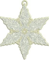 FSL Antique Star embroidery design
