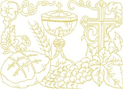 Religious Items embroidery design