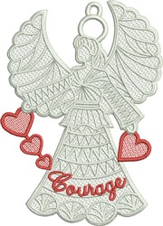 FSL Courage Angel embroidery design
