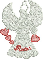 FSL Pastor Angel embroidery design