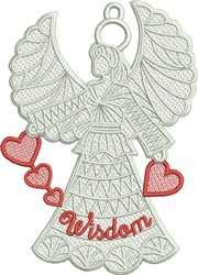 FSL Wisdom Angel embroidery design