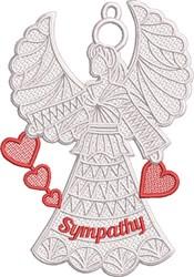 FSL Sympathy Angel embroidery design