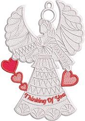 FSL Loving Angel embroidery design