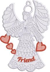 FSL Friend Angel embroidery design