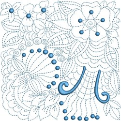 Ink Spring Blocks embroidery design