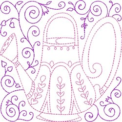 Water Can Quilt Blocks embroidery design