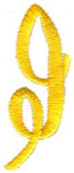Swirl Monogram I embroidery design