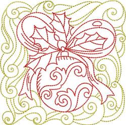 Redwork Ornament embroidery design