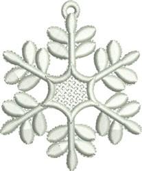 Snowflake FSL embroidery design