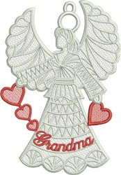 Tulip Birds embroidery design
