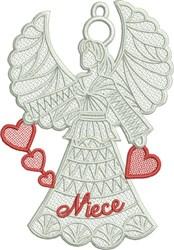 FSL Niece Angel embroidery design