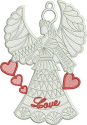 FSL Love Angel embroidery design