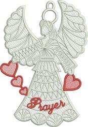 FSL Prayer Angel embroidery design