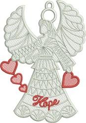 FSL Hope Angel embroidery design