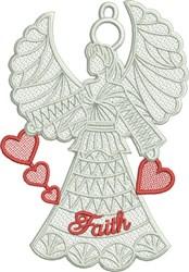 FSL Faith Angel embroidery design