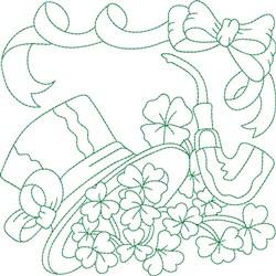 Irish Quilt Block embroidery design