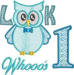 Look Whooos 1 embroidery design