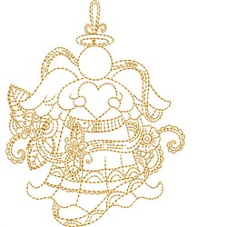 Angels Quilt Blocks embroidery design