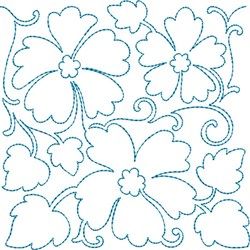 Quilt Floral embroidery design