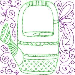 Gardening Quilt Blocks embroidery design