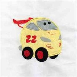 Chubby Car embroidery design