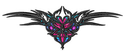 Tramp Stamp Tattoo embroidery design