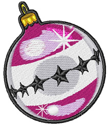 Shiny Ornament embroidery design
