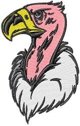 Vulture Head embroidery design