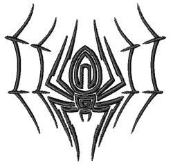 Sleeping Spider embroidery design