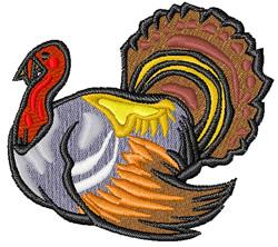 Turkey Gobble embroidery design