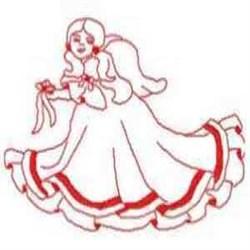RW Joyce Angel embroidery design