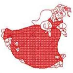 RW Laura Angel embroidery design