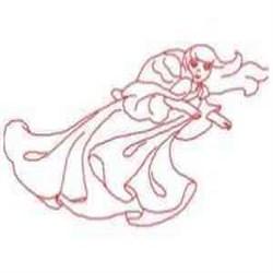 RW Angel Susan embroidery design