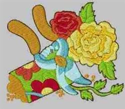 Garden & Roses embroidery design