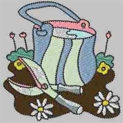 Garden Shears embroidery design