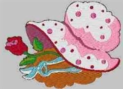 Garden Bonnet embroidery design