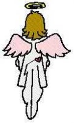 Angel Going Home embroidery design
