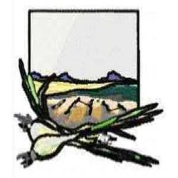 Onion Farm embroidery design