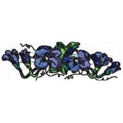 Violet Vine embroidery design