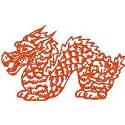 RW Asian Dragon embroidery design