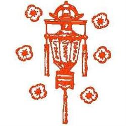 RW Asian Lantern embroidery design