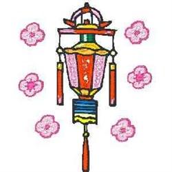 Paper Lantern embroidery design