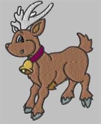 Xmas Reindeer embroidery design