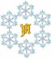 Christmas Fantasy Alphabet A embroidery design