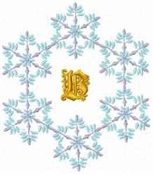 Christmas Fantasy Alphabet B embroidery design